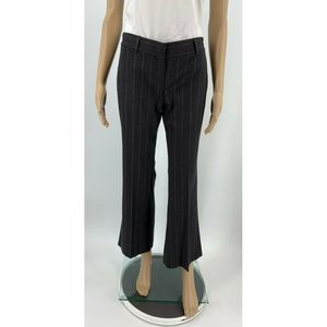 Theory Trousers Size 0 Gray Wool Blend Pants